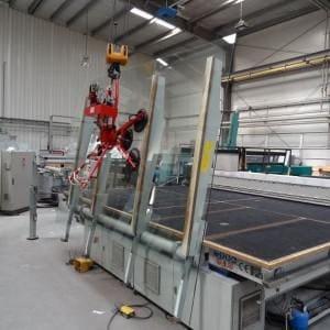 zakład produkcyjny szkła