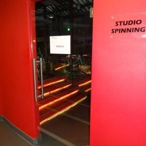 Drzwi szklo hartowane Jatomi Fitness