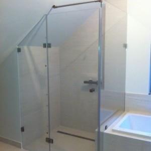 Kabina prysznicowa skosy